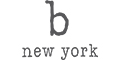 B New York Brand Logo