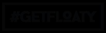 #GETFLOATY Logo