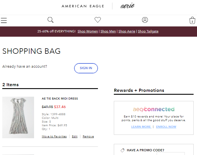 American Eagle Outfitters Coupon Promo Code Discounts For 2020